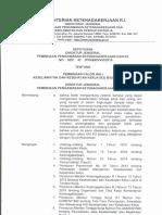 Kepdirjen No.47 Tahun 2015 Kompetensi AK3 Listrik