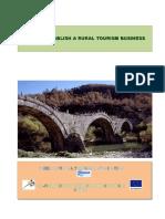 12 Steps to Establish a Rural Tourism Business