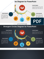 2 0196 Divergent Circles Diagram PGo 16 9