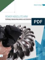Hexagon MI Portable Measuring Arms and Accessories Catalog En
