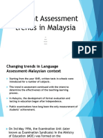 Current Assessment Trends in Malaysia Week 10(1)
