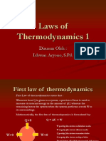Hukum Termodinamika English