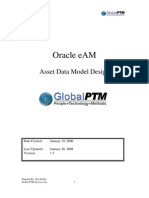 eAM Data Model 012808