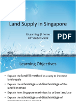 Land Reclamation in Singapore