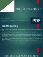 Case Study on Ntpc