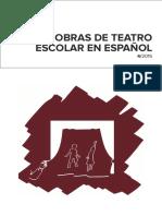 Obras de Teatro Escolar en Español_2015 Datos