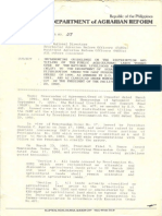1993 AO7 Implementing Guidelines on the Distribution and Titling of the Public Agricultural Lands Turned Over by the NLSF...