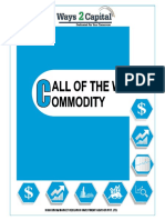 Commodity Research Report  15 may 2018  Ways2Capital