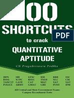 100 SHORTCUTS TO CRACK QUANTITATIVE APTITUDE_ Speed matters.pdf