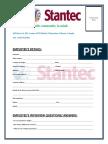 Stantec Employment Interview Question Details