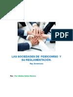 Las Sociedades de Fideicomiso y Su Reglamentación.