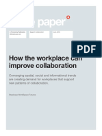 How the workplace can improve collaboration