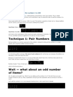 Techniques for adding the numbers 1 to 100.docx