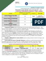 ADMITERE 2017 - Sesiunea II - Scoala Postliceala Sanitara Gheorghe Marinescu - Calendar + Grafic Actiuni Inscriere 2017