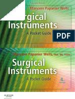 Surgical Instruments - A Pocket Guide - 4E [PDF] [UnitedVRG
