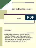 Cordul Pulmonar Cronic Feb 2018