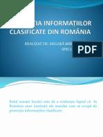 Protecția Informațiilor Clasificate Din România