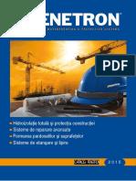 Sistemul Penetron Pentru Impemeabilizarea Betonului 67106