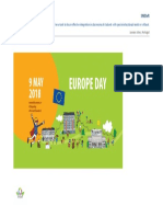 Europe Day- 9 May 2018