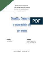 Trabajo Electiva 1 Diseño, Desarrollo y Operacion de Un Pozo