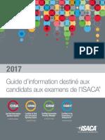 Guide du candidat aux certifications de l'ISACA