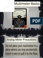 Analog Multimeter Basics