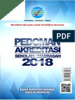 Draf PEDOMAN Akreditasi BAN SM 2018 Rev2