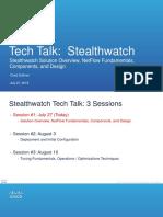 StealthwatchSolutionOverview TechTalk Security