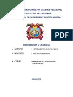 327625525 Monografia de Emergencias y Urgencias