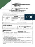 SESIONES DE APRENDIZAJE - 5° de primaria abril