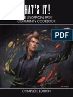 Unofficial FFXV Community Cookbook v4.0