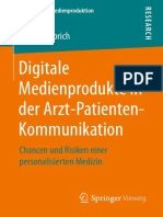 Digitale Medienprodukte in der Arzt-Pat. Kommunikation