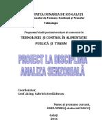 proiect- Ogea Maria- analiza  senzoriala a laptelui.doc