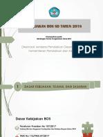 Kebijakan BOS SD 2018