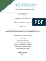 Cuenca Hidrográfica Definición Trabajo