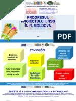 Elena HARCONIȚA. Progresul Proiectului LNSS în R. Moldova.