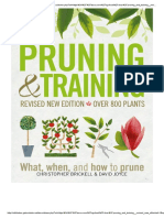 Pruning and Training - Poda e Tratamentos