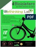 En el Bicicletero del CRAI... Jornadas de LIPASAM sobre economía circular, Rethinking Lab