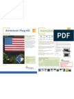 Pexco PDS American Flag Kit Product Sheet