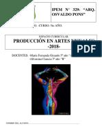 Cuadernillo de Quinto Año-PRODUCCION 2018