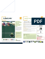 Pexco PDS LiteLink Product Sheet