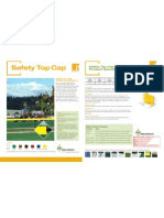 Pexco PDS Safety Top Cap Product Sheet