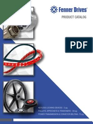 FENNER DRIVES FS0566 Self-Adjusting Tensioner,B V-belt Size