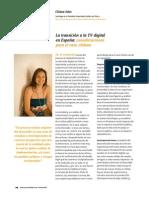 Chiara Sáez - La transición a la TDT en España