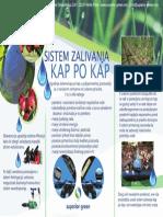 Sistem Zalivanja Kap Po Kap