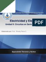 4.- ELECTRICIDAD Thevenin  y Norton.ppt