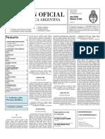 Boletin Oficial 22-09-10 - Segunda Seccion