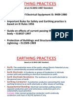 Earthing Practices New