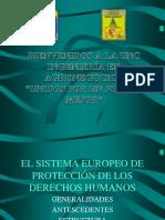 El Sistema Europeo de Protección de Los Derechos