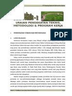 E. Uraian Pendekatan Metodologi